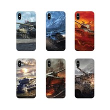 World Of Tanks Multi Acessórios Phone Cases Capas Para iPhone Da Apple X XR XS 11Pro MAX 4S 5S 5C SE 7 8 6S Plus ipod touch 5 6(China)