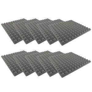 10Pcs Soundproof Foam Studio Acoustic Foam Sound Absorption Treatment Panel TD326|Sound & Heat Insulation Cotton| |  -