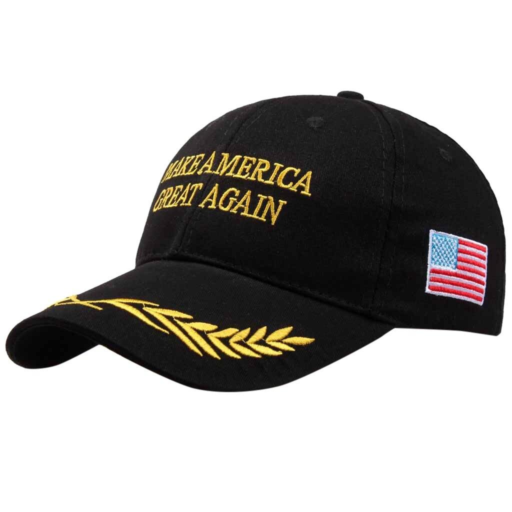 American Election Make America Great Again Hat Adjustable Baseball Unisex Hat Make America Great Again Letter Print Hat#T2 1