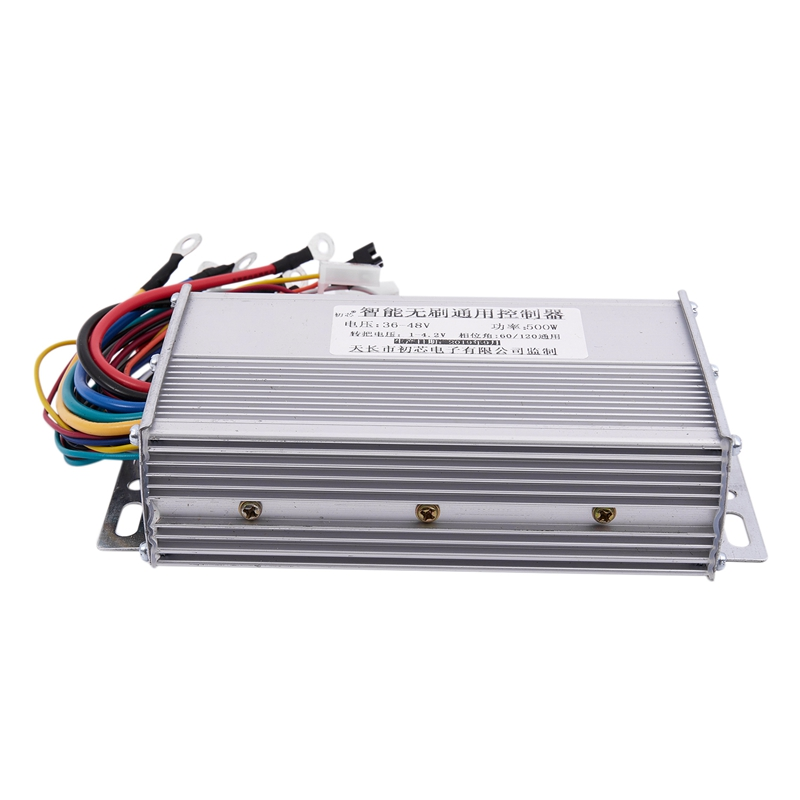 New Sale 36/48V 500W Electric Bike Scooters Ebike Brushless DC Motor Controller LCD/LED