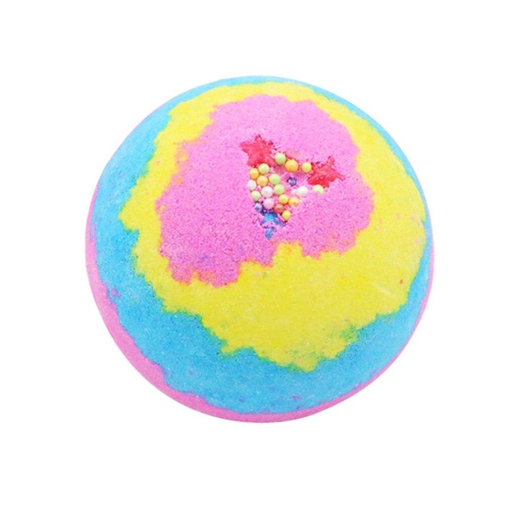 100G Multicolor Bath Ball Home Hotel Bathroom Spa Body Cleaner Bubble Fizzer Bath Bomb Handmade Birthday Gift