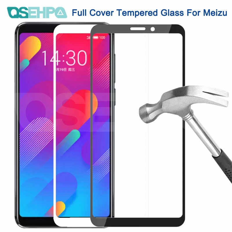 9D Tempered Glass For Meizu M8 Lite M8 Note M6 M5 Note M6S M6T M5S M5C V8 Pro Screen Protector Protective Glass Film Case