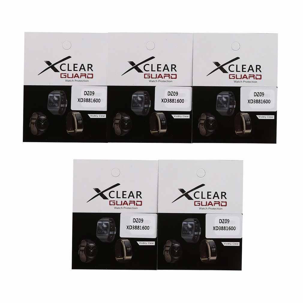 スクリーンプロテクターフィルム用ブレスレットペット超薄型画面保護フィルムカバー DZ09 Bluetooth 子スマート腕時計