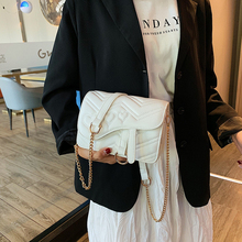 luxury handbags women bags designer ladies crossbody for messenger Shoulder Bags Chains leather 2019