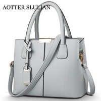 Fashion Women Leather Ladies Handbag Crossbody Shoulder Bags Soft Messenger Bag Shoulder Tote hand Bags With Purse Pocket Casual
