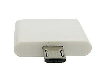 Free Shipping Dock For Iphone 4s Ipad Female To Micro USB 2.0 Male Adapter For Samsung Galaxy Note2 N7100 S4 I9500 S5 9600