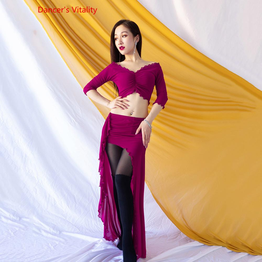 Belly Dance Costume Women New Suit Autumn Long Skirt Costumes Exercise Clothes Oriental Dance Costume