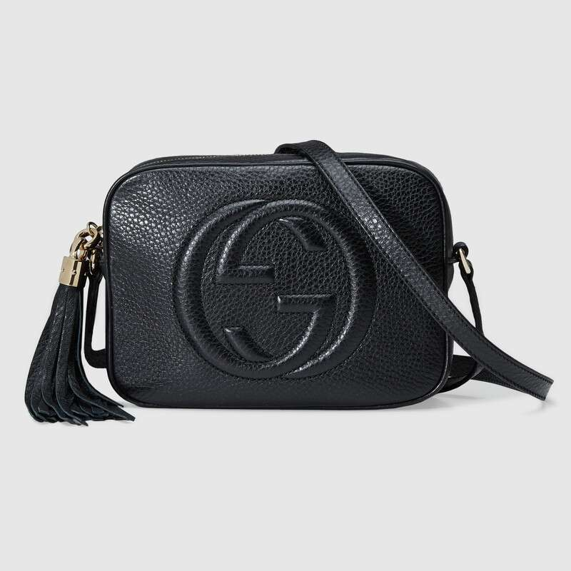 Fashion Leather Handbag For Women Gucci Soho Small Leather Disco Messenger Bags  Shoulder Bags Ladies Party ‎308364 A7M0G 1000