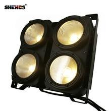 1PCS 200W COB Stgae Light 4x100W Led Blinder 100W RGBWA UV 6in1/5in1/4in1/ Cool Warm White DJ Par Spotlight Bars Theater SHEHDS все цены