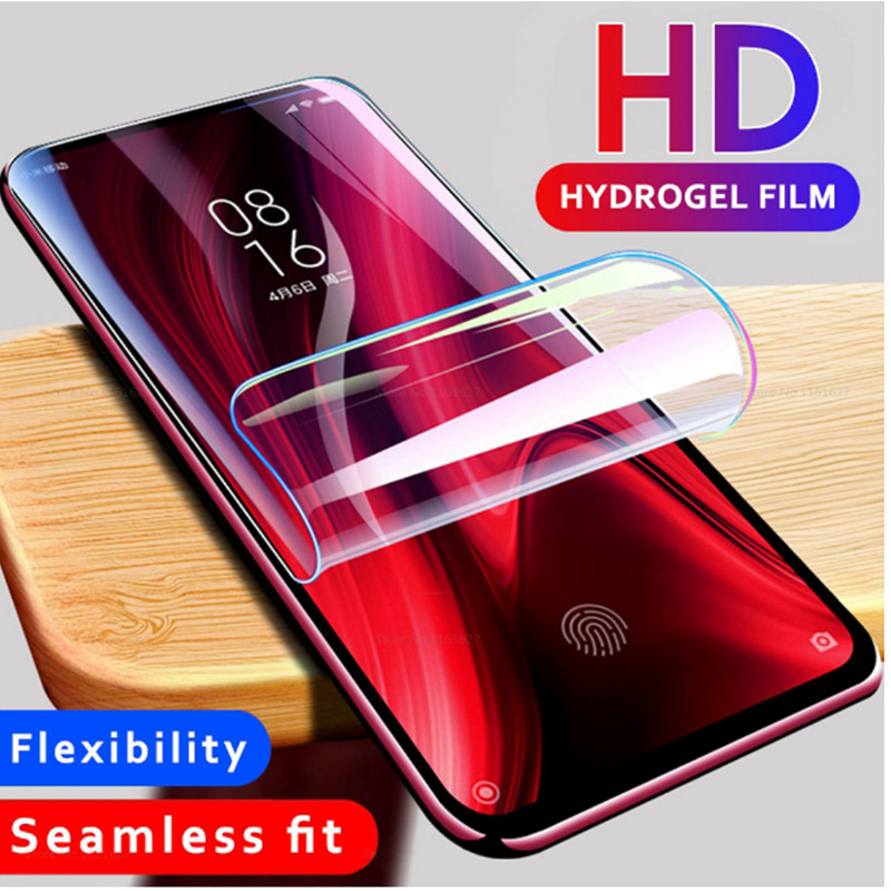 400D 3-1Pcs <font><b>Hydrogel</b></font> Soft Film For Xiaomi <font><b>Redmi</b></font> Note 7 <font><b>8</b></font> 6 Pro 8T Screen Protector <font><b>Redmi</b></font> 7A 8A K20 Pro Protective Film Not Glass image