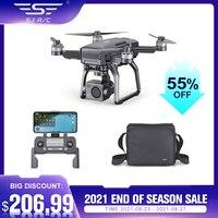 Eachine & sjrc f7 4k pro rc zangão 4k 5g wifi 3km fpv gps dron motor sem escova com 4k hd câmera 3-eixo cardan 25 minutos tempo de vôo