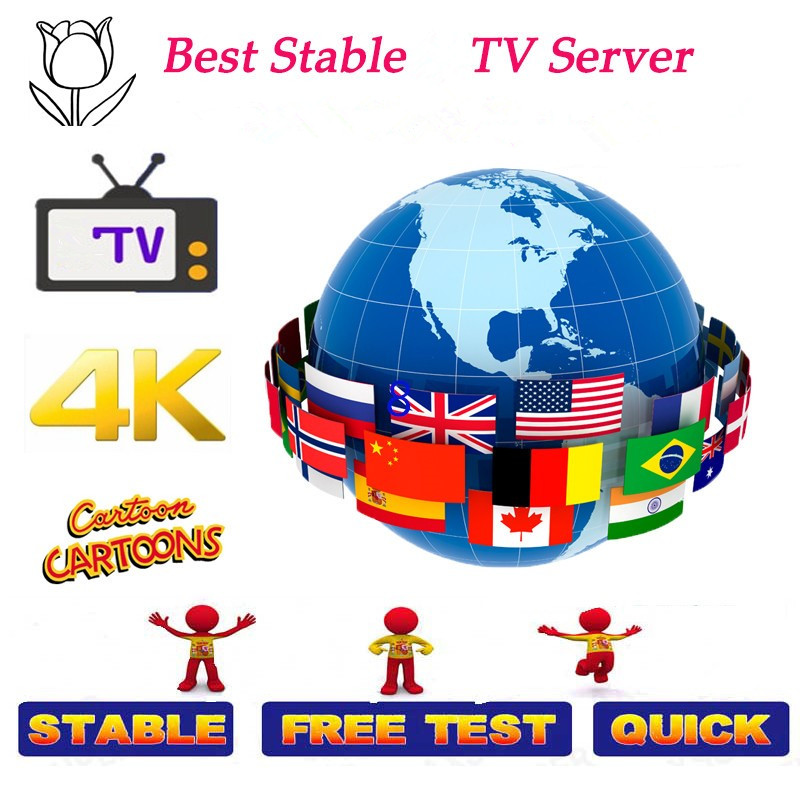 7000 Channels World Global IPTV Europe USA UK Germany Italy Nordic Latin 3/6 Months Subscription For M3U Ma9 Android Smart TV