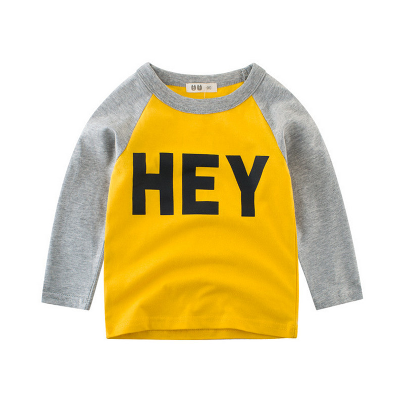 Outfits Clothing Sweartshirts Printed Baby Boys Kids Children's Casual Letter CANIS 1-10T