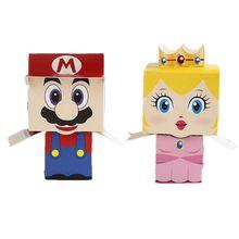Boîtes à dragées Super Mario pour fête de mariage, 5 pièces, boîte cadeau pour bonbons et glaces, décor pour fête d'anniversaire, boîte cadeau à tiroir, nouvelle collection