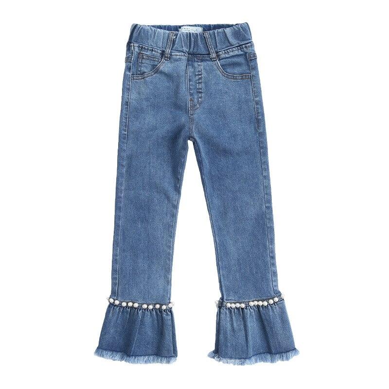 Image 5 - 2020 automne enfants vêtements filles jean décontracté mince denim bébé fille jean pour filles grands enfants jean pantalons longsgirls jeansjeans for girlsbaby girl jeans -