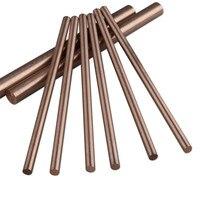 1kg 5x200mm Copper Tungsten CuW Round Rod W70/30 Alloy 80%W 20%Cu