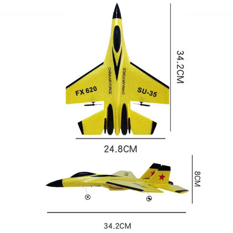 aviao de brinquedo infantil planador isopor 04