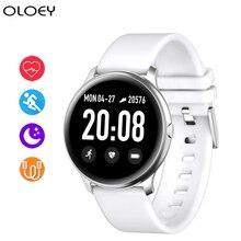 цена на New KW19 Color Screen Smart Watch Waterproof Smart Bracelet Heart Rate Monitor Smartwatch Bluetooth Sports Watch For Men Women