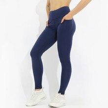 High Waist Fitness Leggings Women Push Up Workout Legging with Pockets Patchwork Leggins Pants Clothing