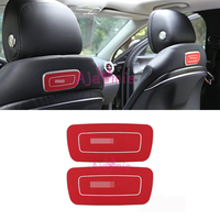 Accessories For Mercedes Benz 2016 2017 E Class W213 Seat Back Emblem Sticker Aluminium Alloy Chrome Car Styling