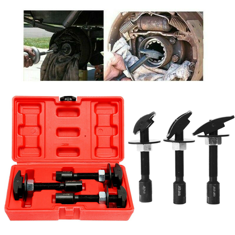 MR CARTOOL Rear Axle Bearing Puller Kit Puller Slide Hammer Set Extractor Installer Remover W/Case Car Repair Disassembly Tool
