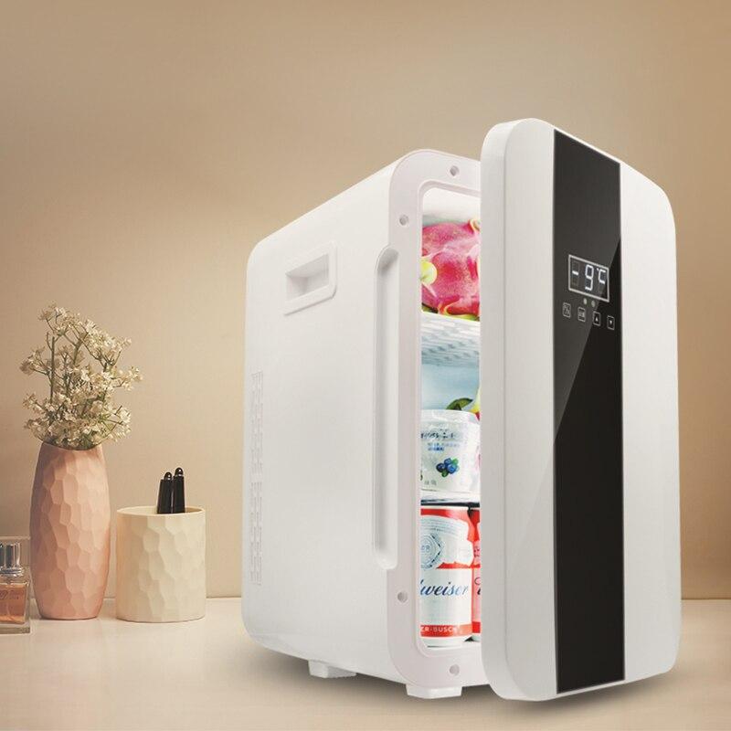 22L Single Door Refrigerator 12V Small Refrigerator 220V Small Household Double Refrigerator