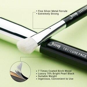 Image 3 - Набор кистей для макияжа черного/серебряного цвета