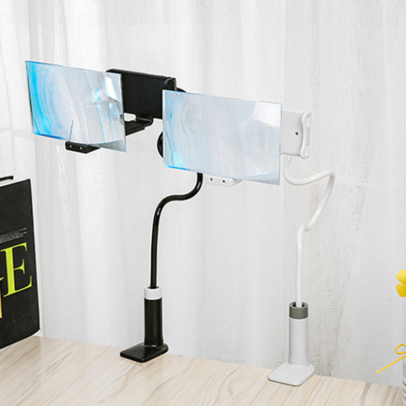 Mobile Phone High Definition Projection Bracket Adjustable Flexible All Angles Phone Tablet Holder 3D HD Screen