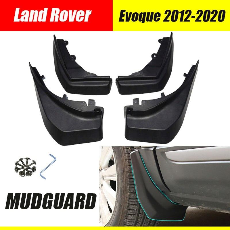 Auto mudguards  For Land Rover Evoque car mud Flaps splash guards Fenders in 2013-2018