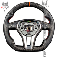 Private custom carbon fiber steering wheel for Mercedes Benz C class W204 /AMG E class W212