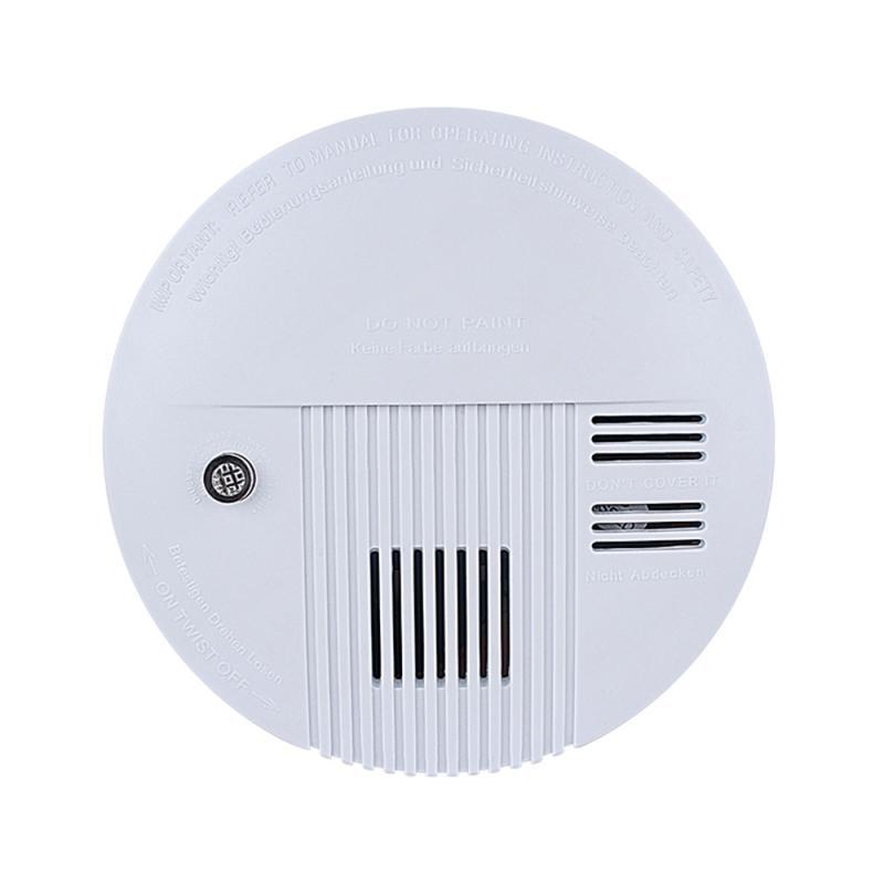 Plastic Housing Cordless Standalone Smoke Detector Smoke Alarm110V-220V With Dustproof Home Security Alarm