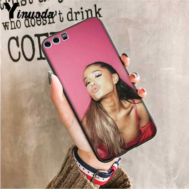 Edulcorante arcoíris Yinuoda Ariana Grande AG de silicona suave TPU para Huawei VIEW20 HONOR 5A 10I 20IPLAY 8C 9X PRO Y9 2018