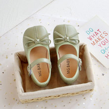Casual-Shoes Baby-Girls Toddler for White Flower-Girl Green St. Spring 2t Flat Kids