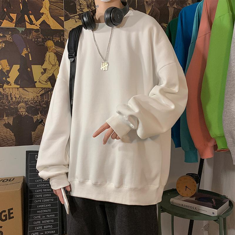loose Korean style plus size sweatshirt winter clothes streetwear women 2020 new fashion plus velvet oversize harajuku hoodie 4