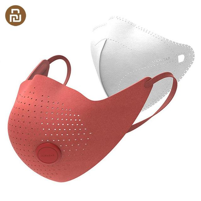 AirPOP Air Wear PM0.3/PM2.5 Anti haze Face Mask With 2Pcs Filter Adjustable Ear Hanging Comfortable Adult Face Mask