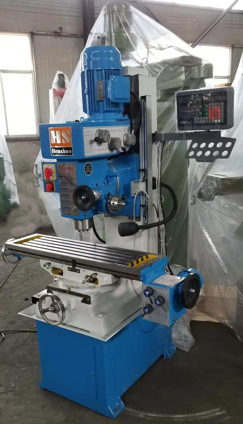 ZX50C Milling And Drilling machine With 3 Axis DOR