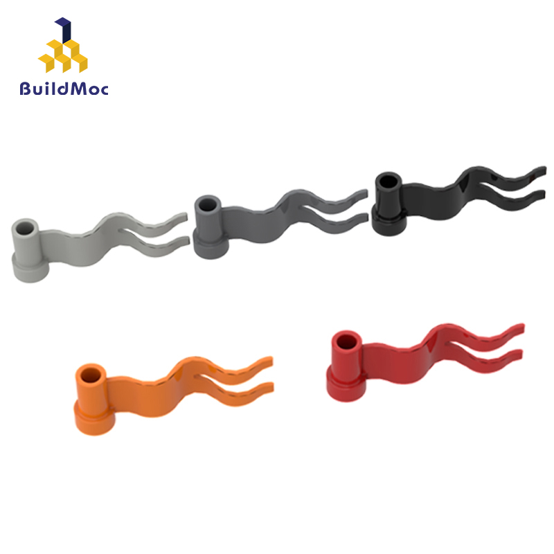 BuildMOC Compatible Assembles Particles 4495 Flag Building Blocks Parts DIY LOGO Educational Creatives Gift Toys