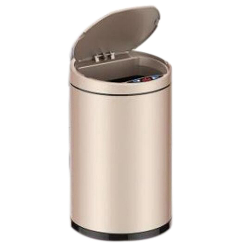 Ev ve Bahçe'ten Atık Kovaları'de Endüktif çöp tenekesi akıllı sensör ev banyo çöp tenekesi saklama kutusu çöp tenekesi metal çöp tenekesi title=