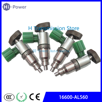 4/set 16600-AL560  JSD7-72 16600AL560 Fuel Injector / Car Nozzle Fits For Nissan Sentra/Bluebird/Sylphy/Primera QR20DD/QR25