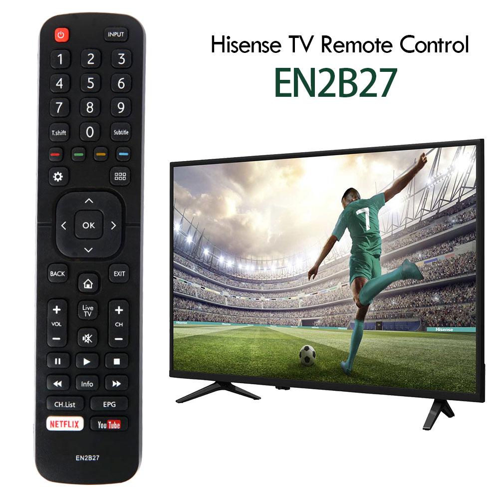 EN2B27 TV uzaktan kumanda değiştirme Hisense 32K3110W 40K3110PW 50K3110PW 40K321UW 50K321UW kullanışlı denetleyici ev tedarikçisi