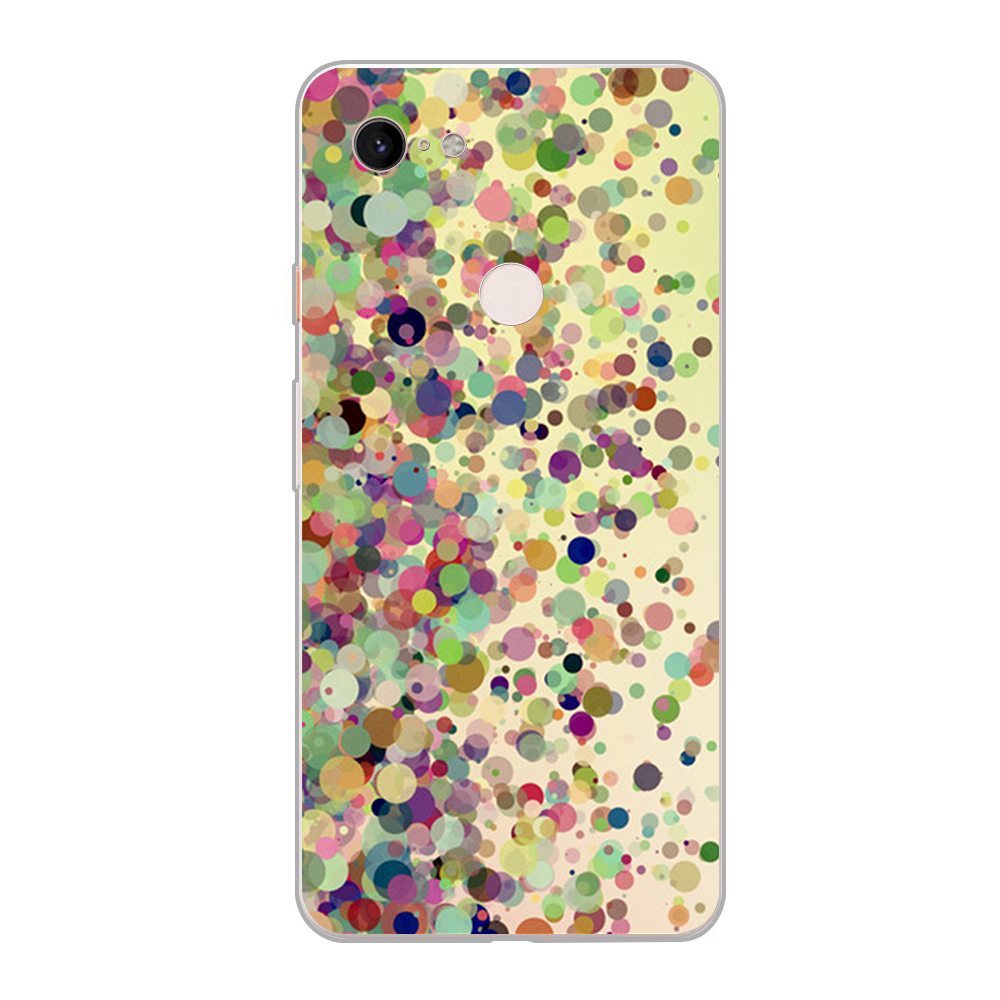Case Colorful Pattern For Google Pixel 3 XL 2 XL 3A XL 4 XL Soft TPU Phone Cases For Pixel 2XL 3XL 4XL 3Axl Cover Funda