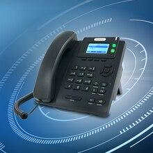 Telefone voip com poe/sip telefone 2 linhas sip telefone ip