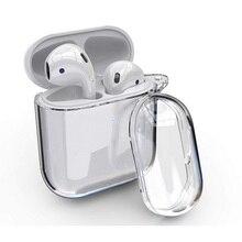 Airpods מקרה 1 & 2 3nd רך מגן שקוף ברור כיסוי CaseCompatible עם אפל AirPods אלחוטי אוזניות טעינת מקרה