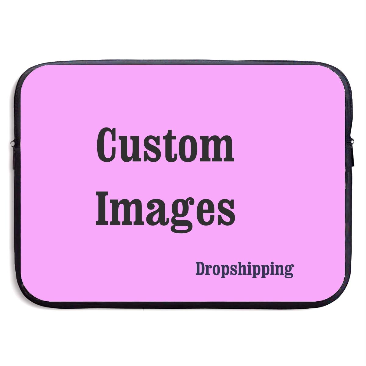 Brand Custom Men Laptop Bag Images Printing Sleeve Case Macbook Pro 13 15 Inch Laptop Case Drop Shipping