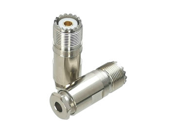 1pcs uhf pl259 male plug crimp rg58 rg142 lmr195 rg400 coaxial cable straight connector 10Pcs Connector UHF SO239 Female Jack Clamp RG58 RG142 LMR195 RG400 RF Adapter Coaxial High Quanlity