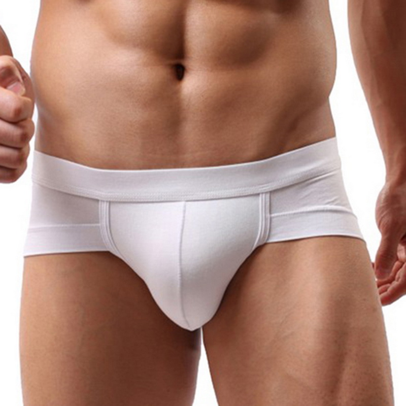 Sfit Men's Sexy Breathable Brief  Comfortable Briefs Underwear Cotton Underpants Shorts Cueca Man Underpants Male Panties