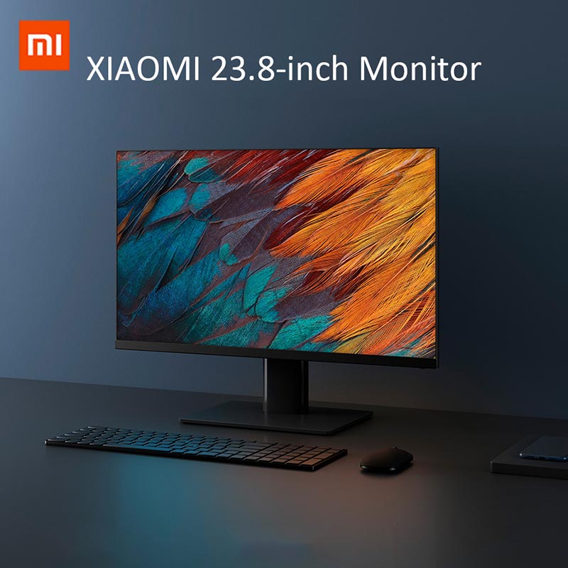 XIAOMI Computer Monitor 1920*1080 23.8 Inches Full HD Screen 24W 16:9 Display 250 Nit Brightness With HDMI Power Port For PC