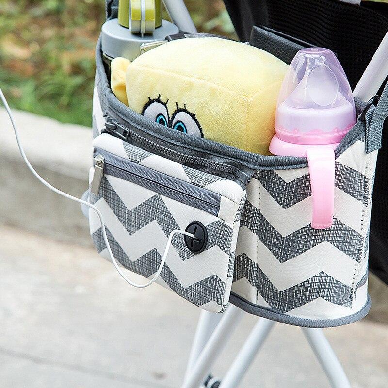 2 ב 1 נייד עגלת ארגונית עגלת תיק וו עגלת תיק עגלת תינוק אביזרי חברה עבור עגלת ארגונית תיק