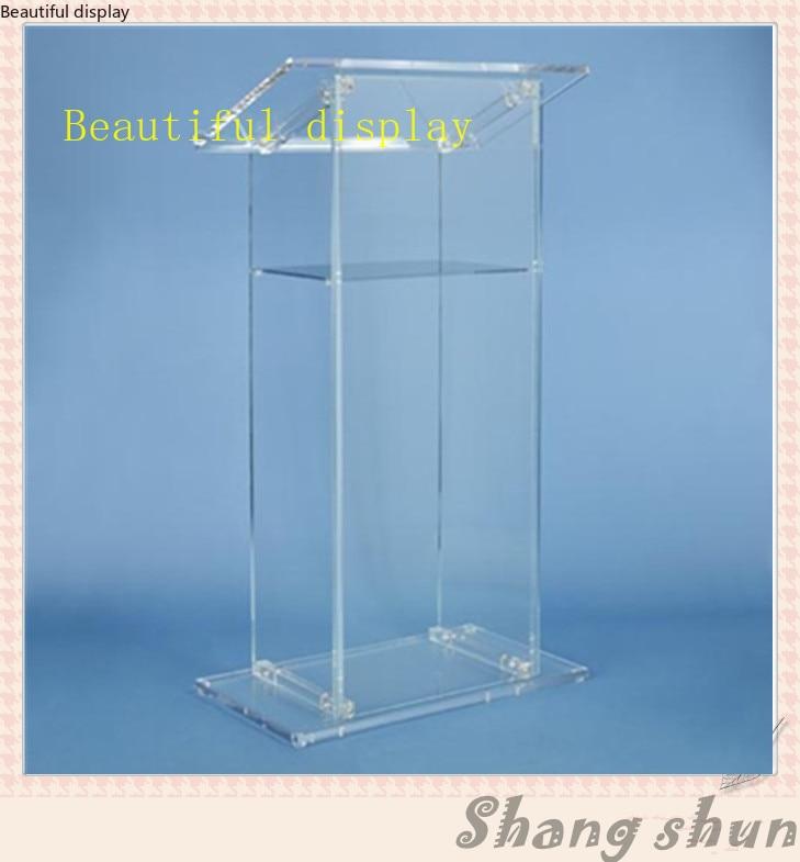 Mobilya'ten Sinema Mobilyaları'de Customized Acrylic Lectern  Clear Acrylic Church Lectern  Clear Acrylic Church Pulpit  Clear Acrylic Church Podium title=