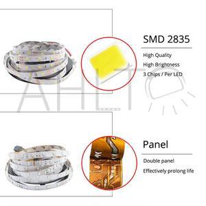 5m RGB SMD 2835 Светодиодные ленты светильник 12V настольная лампа светодиодный потолочный светильник стены Рождественский светильник s выше, чем старый 3528 5050 WS2811 неоновый светильник Инж|Светодиодные ленты|   | АлиЭкспресс